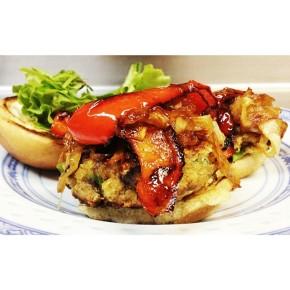 papa dom's veggie burger